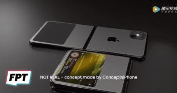 Skladateľný iPhone