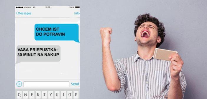 SMS priepustka