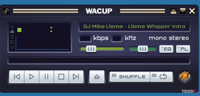 Winamp je spať! Volá sa ale WACUP