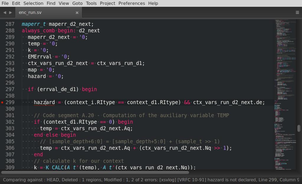 Popisovanie logiky hardvéru v jazyku SystemVerilog, pri dizajnovaní moderných procesorov