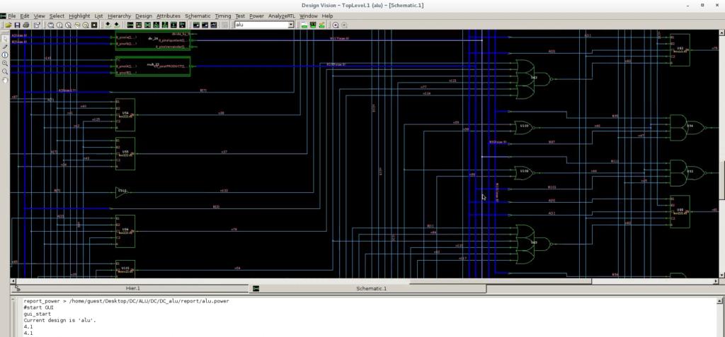 Automaticické syntetizovanie schémy obvodov z logických hradiel, na základe vytvoreného popisného RTL kódu