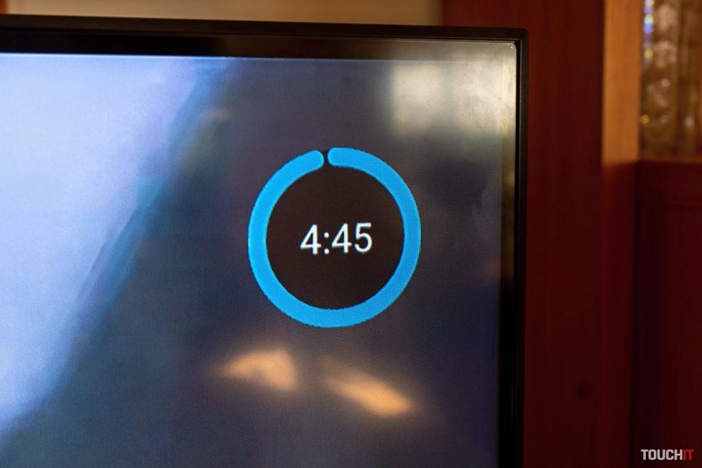 Takto sa odpočítava čas pri sledovaní platených programoch. Po 5 minútach skončí