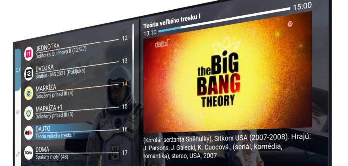 Televízne vysielanie v najvyššej kvalite aj celkom zadarmo. Ako to funguje?