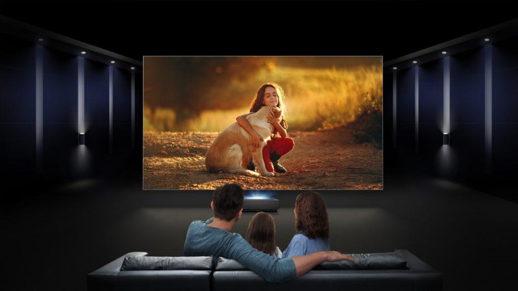 Hisense takto prináša kino do vašej obývačky. Zdroj: Hisense