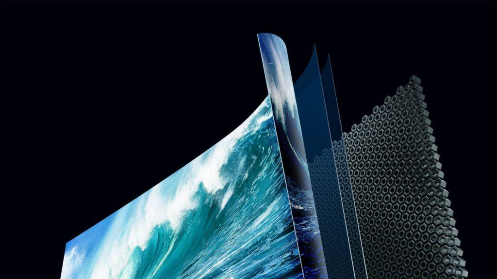 Takto sa vytvára zvuk na displeji Hisense televízora. Zdroj Hisense