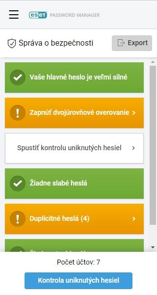 Tu si skontrolujete či je heslo k vášmu účtu odcudzené