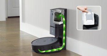 iRobot Roomba i3+ sa sama vyprádzni do stanice s vreckami AllergenLock. Zdroj: iRobot
