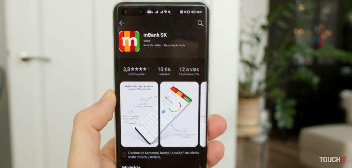 Aplikácia mBank