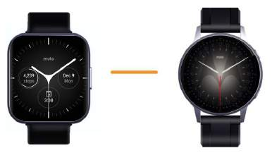 Inteligentné hodinky Moto 2021