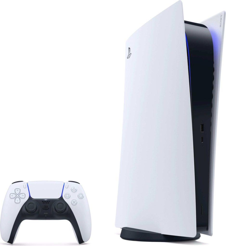 PlayStation 5 vyzerá na fotkách pekne, poteší dizajnom futuristickej konzoly