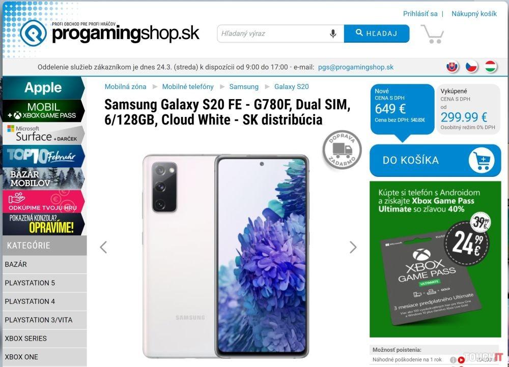 Kúpte si nový Android telefón a hrajte sa lacnejšie