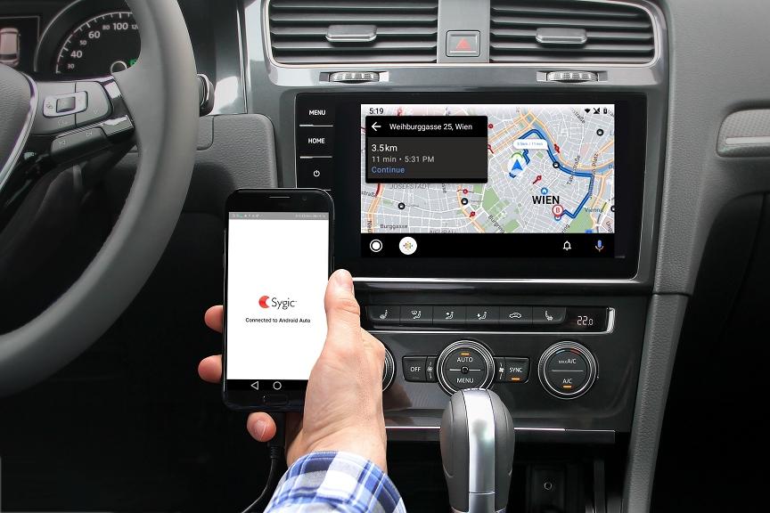 Na využitie Sygic GPS Navigácie nepotrebujete internete