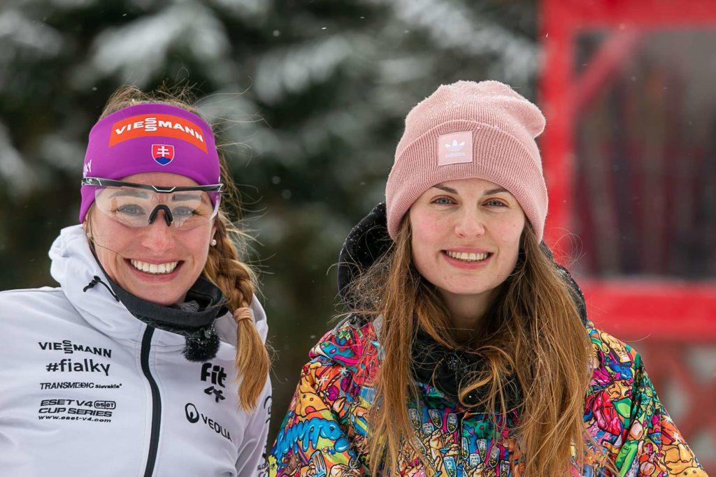 Becca a Paulína Fialková počas zámeny životov