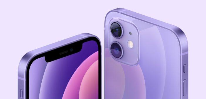 Fialový iPhone 12