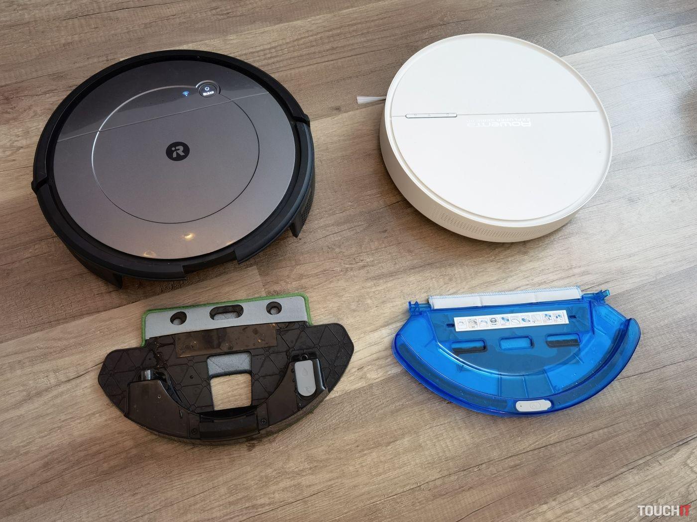 iRobot Roomba Combo a Rowenta Explorer Serie 60