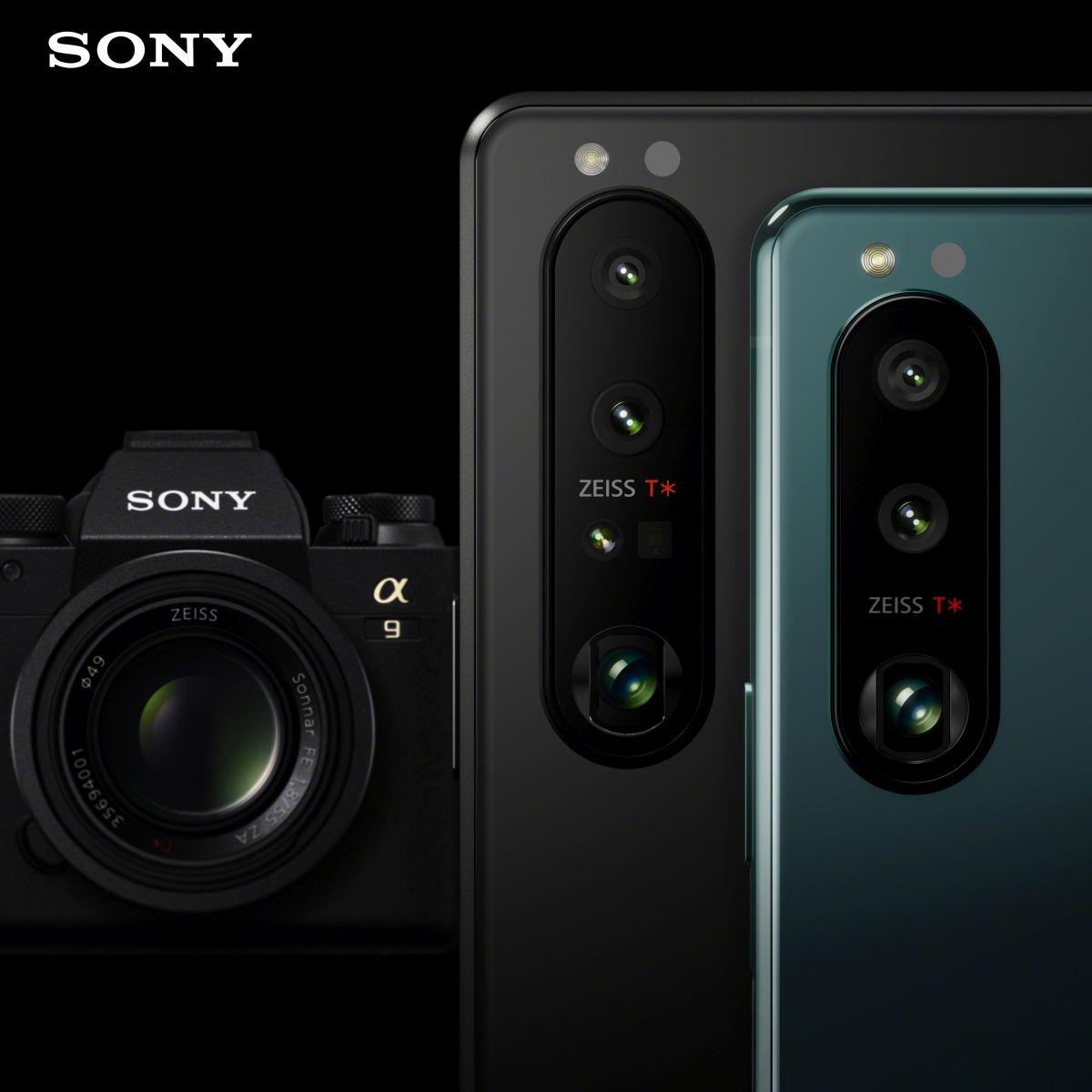 Sony Xperia 1 III a Xperia 5 III