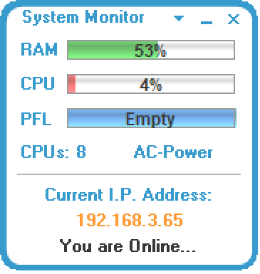 SSuite System Monitor