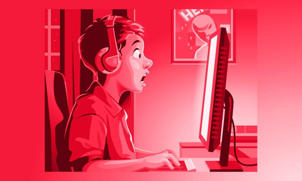 S pornografiou sa do dospelosti stretne takmer každé dieťa, Ilustrácia: kbeis