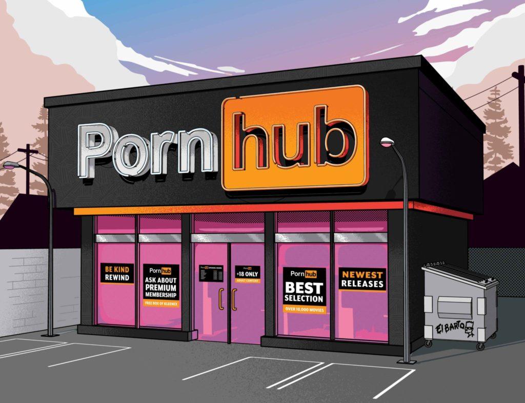 Mnoho názorov zostalo zamrznutých v minulosti a pokúša sa on-line pornografiu riešiť ako v jej analógovej ére, Ilustrácia: Musketon