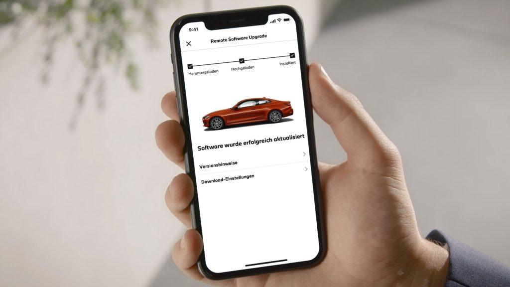 Aplikácia MyBMW na nastavenie predklimatizácie, monitorovanie stavu aaktualizácie vozidla