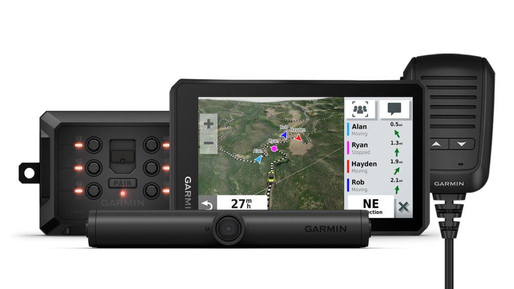 Zariadenia predstavené špeciálne pre vyznávačov off-roadu. Zdroj: Garmin