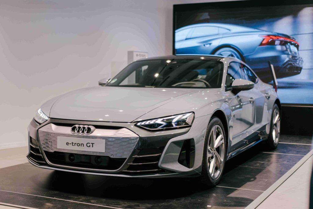Z ponuky Audi je to e-Ton GT