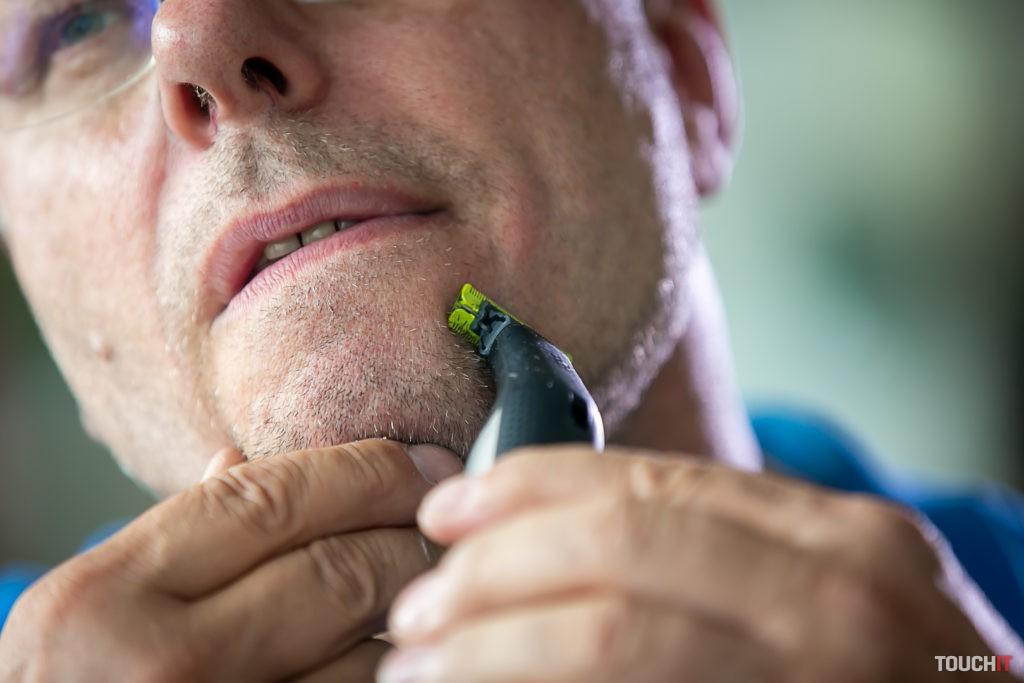 S OneBlade Pro sa môžete holiť na sucho alebo na mokro.