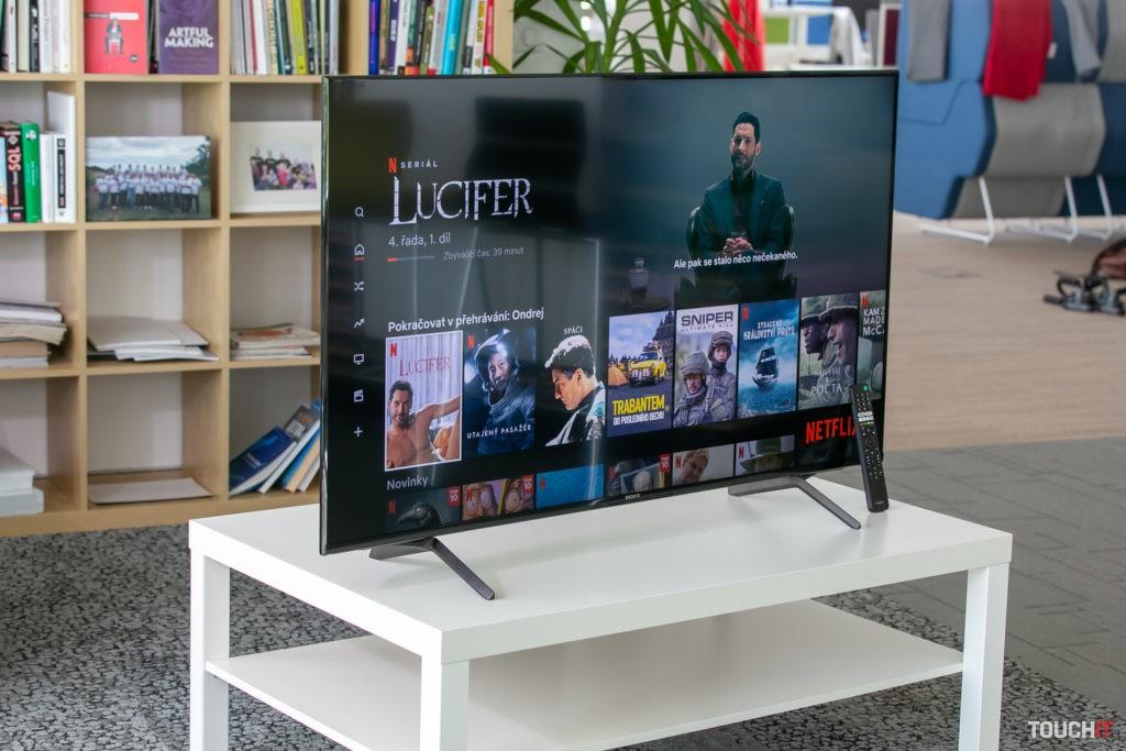 Netflix si najviac užijete na Sony XR X92J.