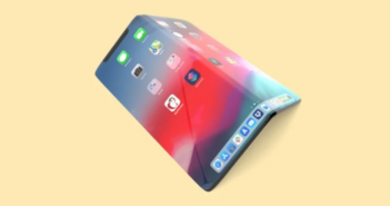 Apple iPhone skladateľný smartfón
