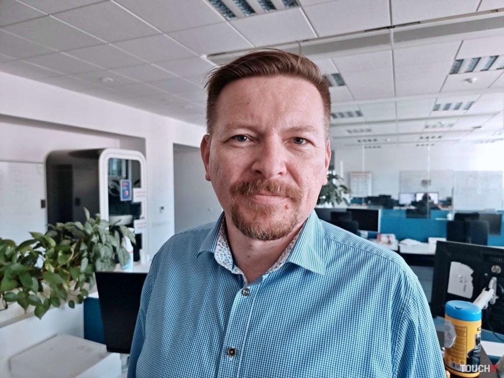 Martin Ferenec, riaditeľ SAP Slovensko pri našom rozhovore.