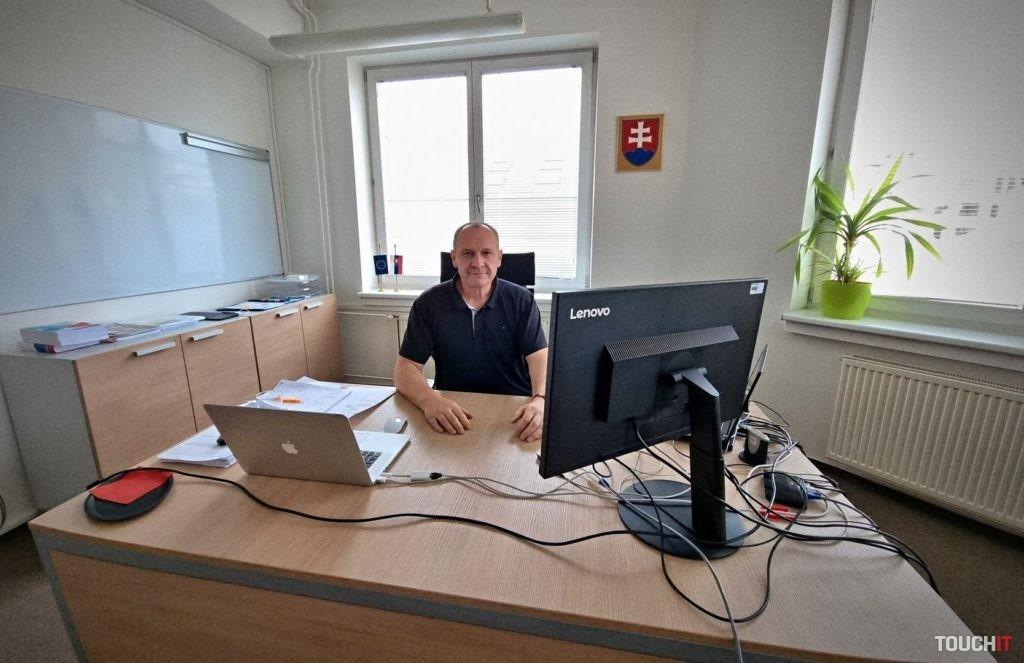 Pavol Capek, riaditeľ NCZI.