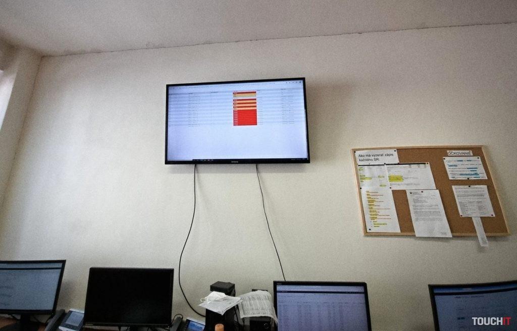 Červeným sú označené nevyriešené prípady.