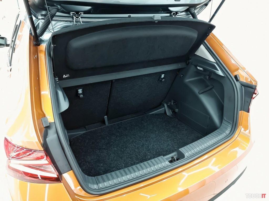 Úctyhodný batožinový priestor na Škoda FABIA