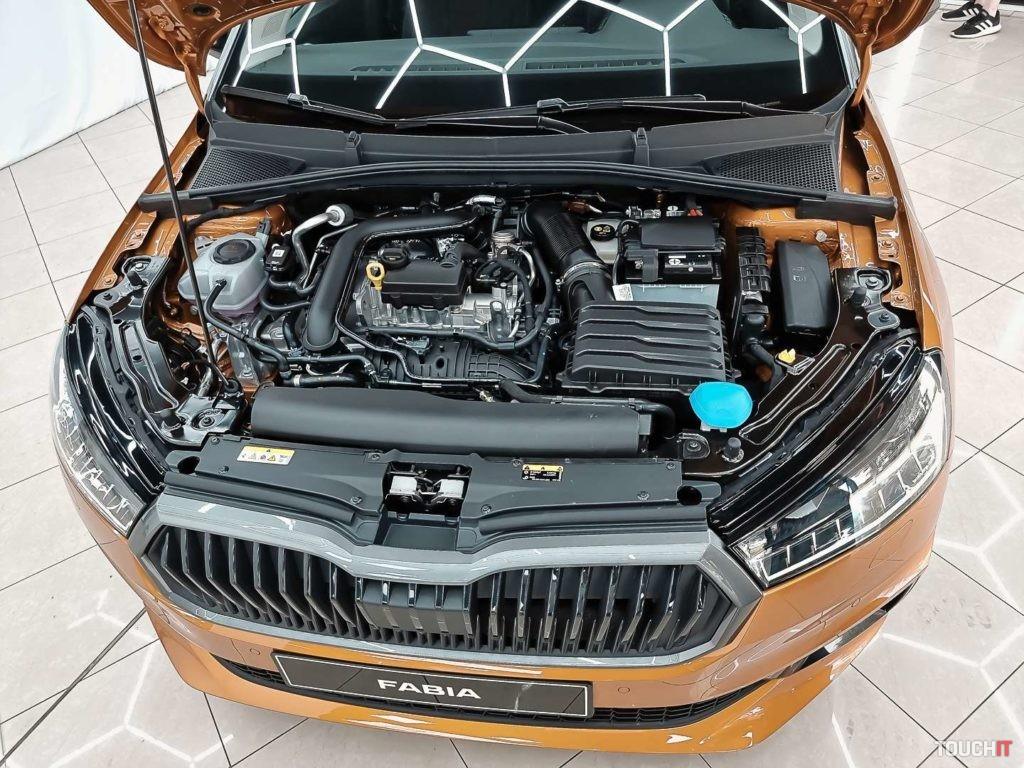 V tomto prípade ide o motor 1.0 TSI 70 kW.