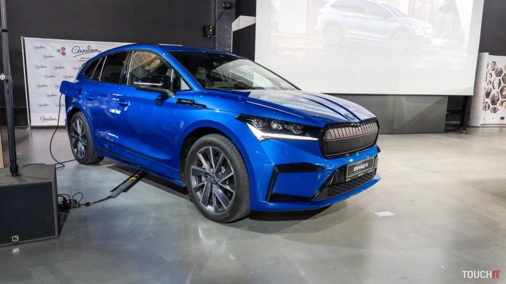 Nabíjanie Škoda Enyaq.