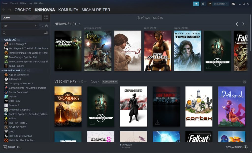 Steam je jednou z možností ako legálne získavať hry