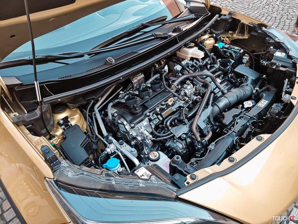 Hybridný pohon kombinujúci benzín a elektrinu v Toyota Yaris Cross. Zdroj: Ondrej Macko/TOUCHIT.sk