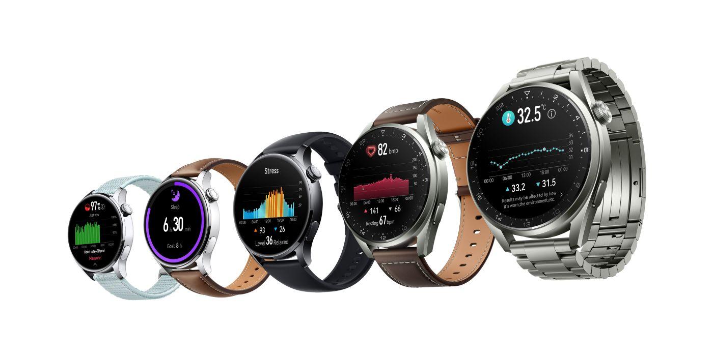 Huawei Watch 3 a 3 Pro