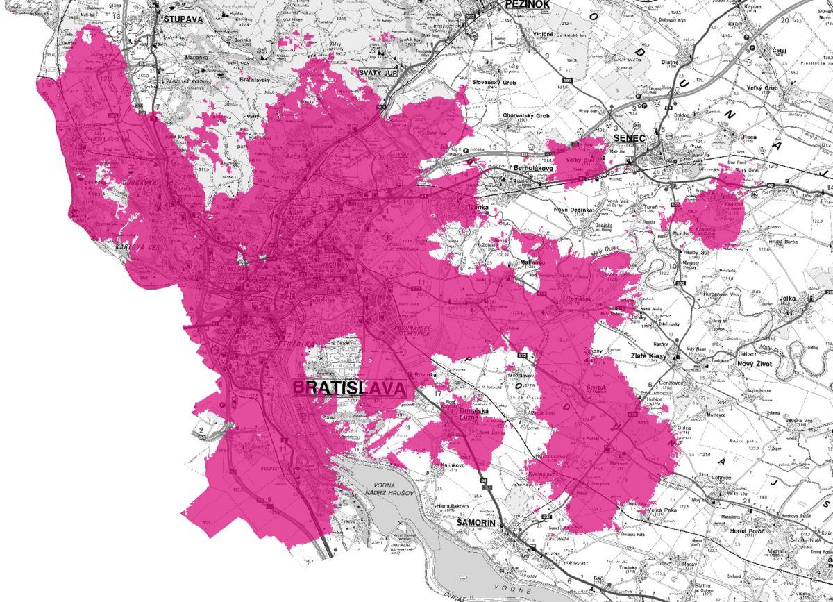 Telekom 5G sieť