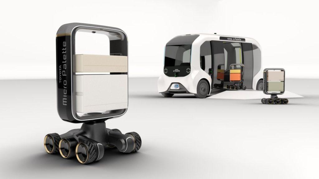 Prenos dodávok priamo k dverám majiteľa pomocou robotov.
