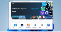 Windows 11 Android aplikácie