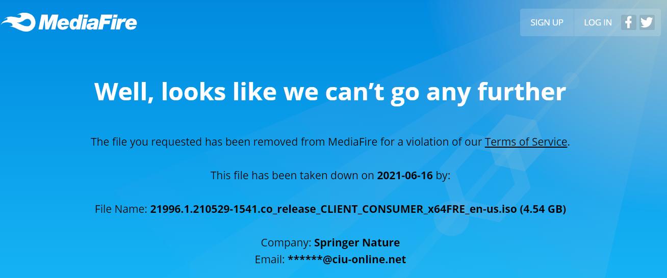 media fire broken link
