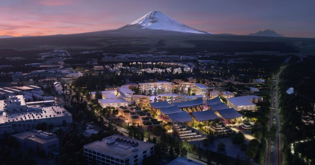 Woven City ako mesto budúcnosti