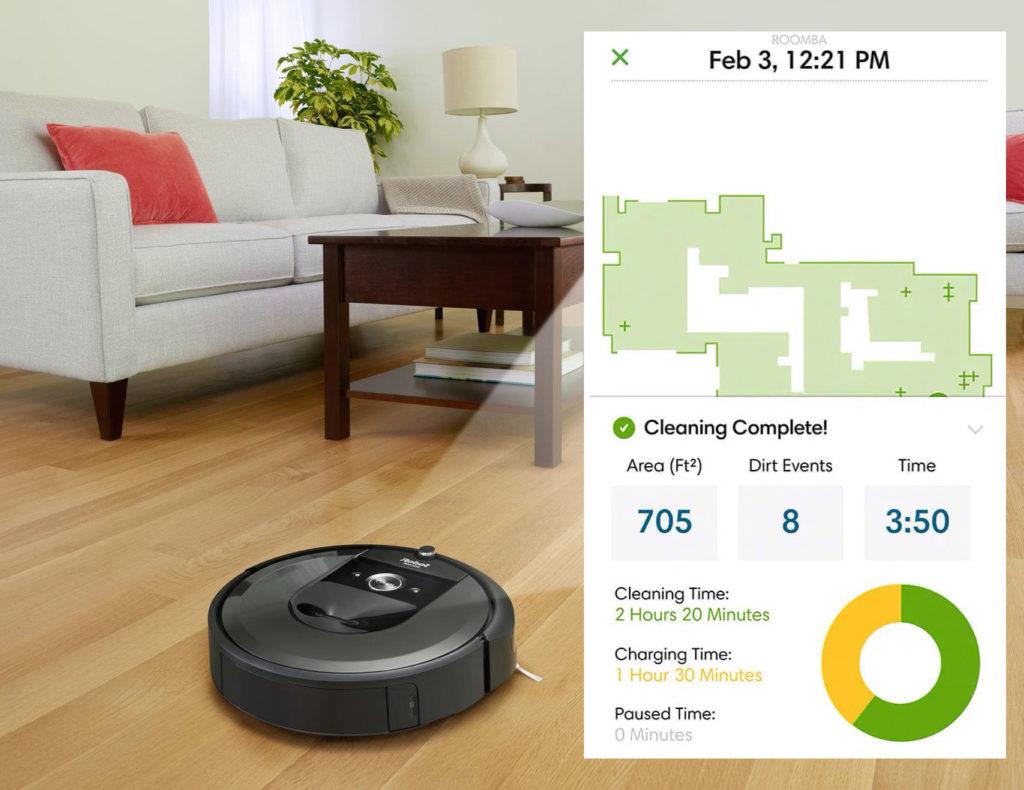 Roomba s vytvorenou mapou bytu. S ich predajom za vaším chrbtom si to riaditeľ firmy na svoje prekvapenie musel rozmyslieť
