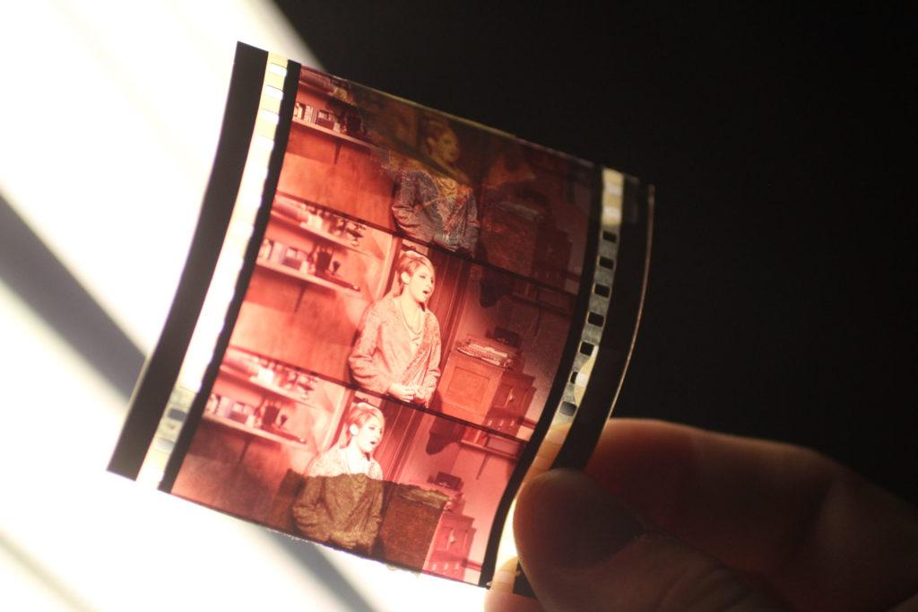 Veľkosť farebného 70 mm filmu