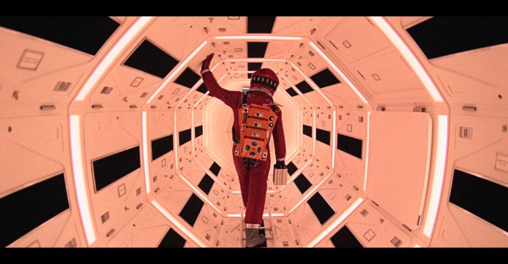 Film 2001: Vesmírna odysea z roku 1968 je dnes ako jeden z mála dostupný v 8K, vďaka jeho 65 mm pásu