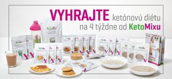 Vyhrajte ketónovú diétu na 4 týždne od KetoMixu