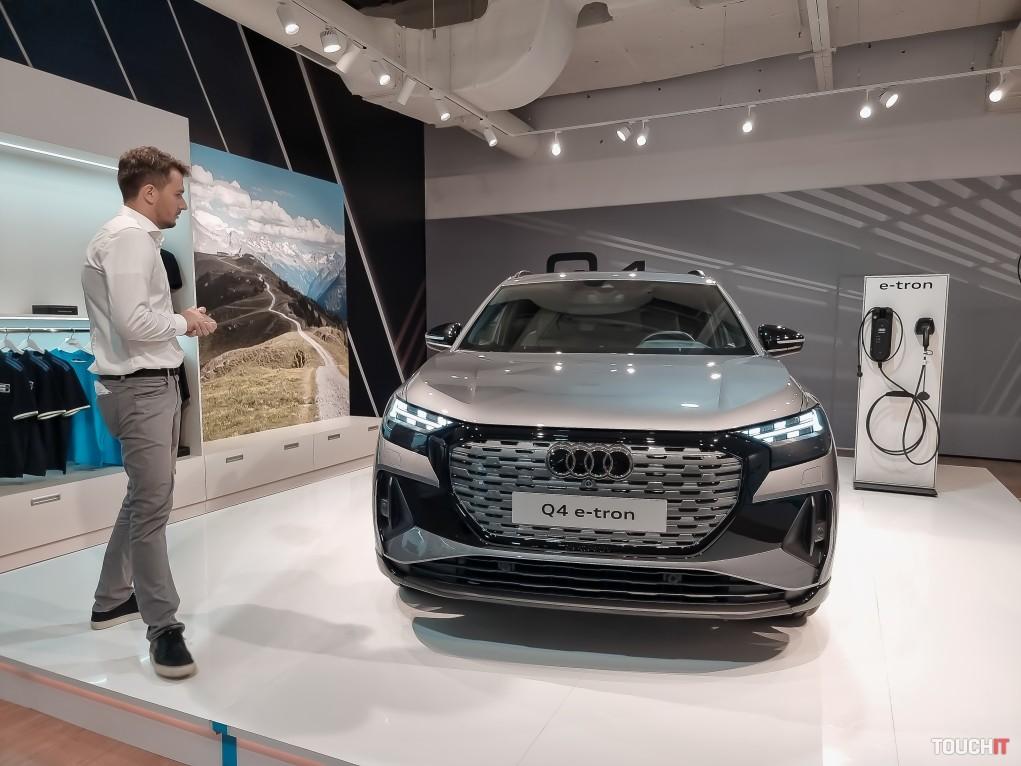 Audi Q4 e-tron. Zdroj: Ondrej Macko/TOUCHIT