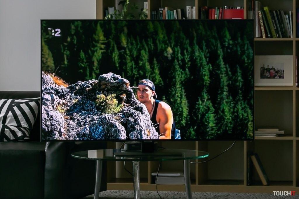 Samsung QE55Q80A. Zdroj: Ondrej Macko/TOUCHIT.sk