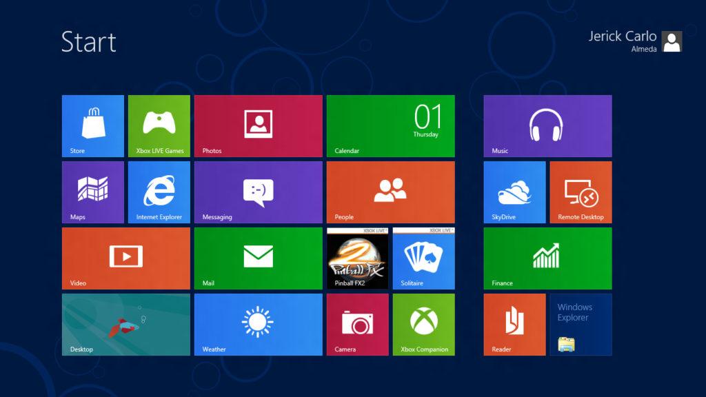 Windows 8 ako pokus na používateľoch. Nekonzistentný, nedorobený, problémový. V očiach mnohých taká horšia Vista